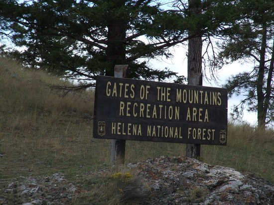 Gates of the Mountains: Sign