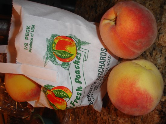 Kent, Огайо: Redhaven peaches from Beckwith's!
