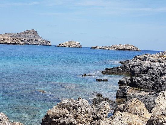 St. Pauls Bay - Picture of Agios Pavlos Beach (Saint Paul ...