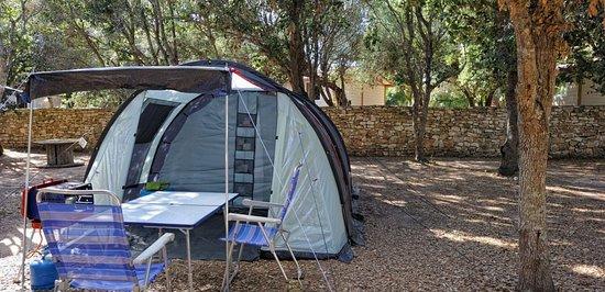Camping Cavallo Morto : Emplacements sans réservation