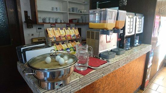Hotel Jakober Hof: Frühstücksbuffet