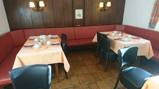 Hotel Jakober Hof: Frühstücksraum