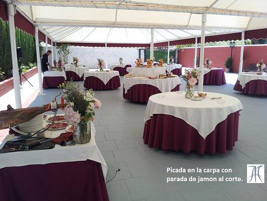 Carpa para eventos y banquetes fotograf a de restaurante for Carpa comida