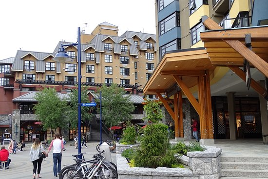 Aava Whistler Hotel: centrum Whistler
