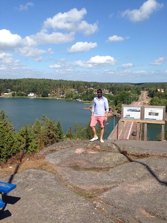 Godby, Finnland: Uffe pa berget