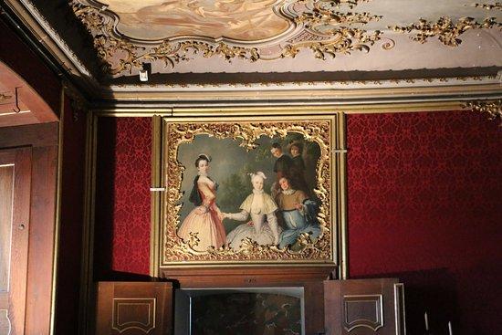 Der tur  Gemälde über der Tür - Bild von Thüringer Landesmuseum ...