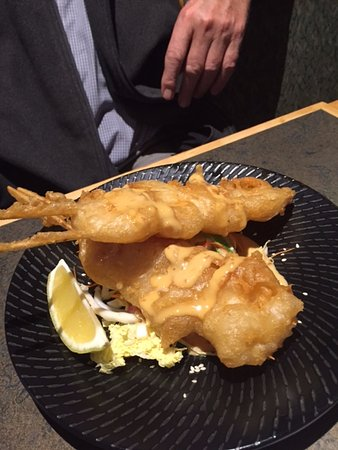 Howrah, Australia: Battered Prawns