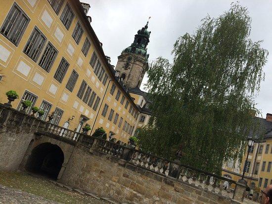 Rudolstadt, Germany: Innenhof
