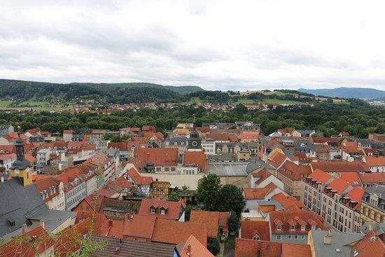 Rudolstadt, Germany: Blick auf die Stadt