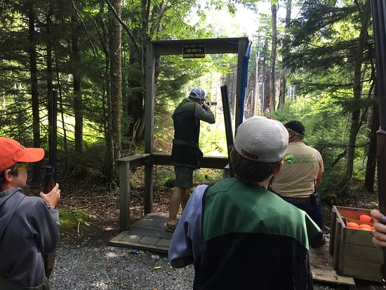 Snowshoe, Virginia Occidental: Clay Shooting