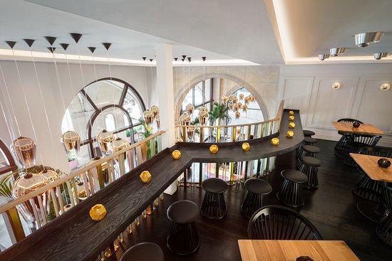 The Mezzanine at Bronte - Picture of Bronte, London - TripAdvisor