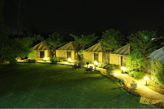 Dhela, Indien: Swiss Tents