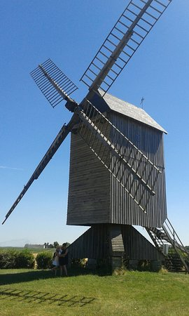 Talcy, France: Moulin a vent