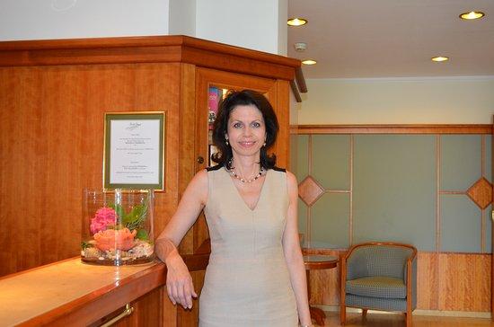 Hotel Jager: Chefin Andrea Steinleitner