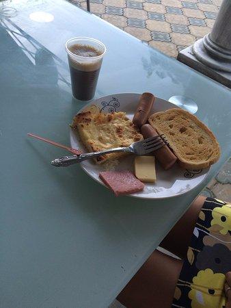 Hotel Dana Palace Park: завтрак