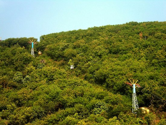 Kailasa Giri : Ropeway and the view from top