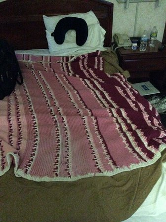 Montgomeryville, PA: my blanket that i had to get from car to keep me warm