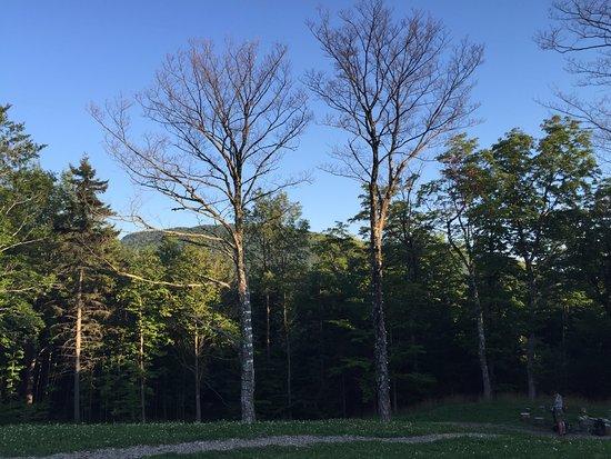 Sutton, Καναδάς: vue du chalet principal
