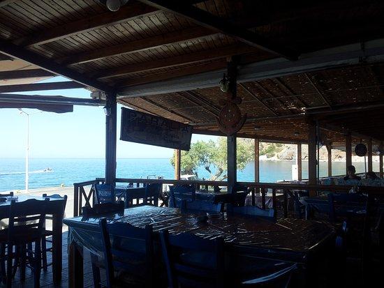 Agia Roumeli, اليونان: Sul mare