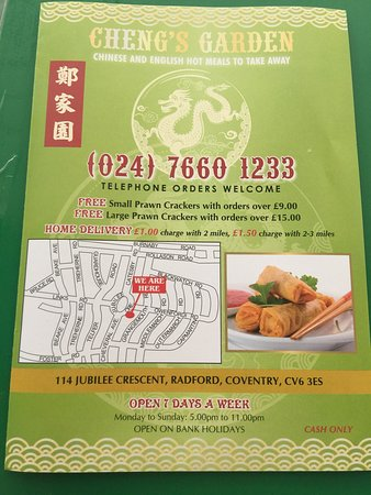 Cheng\'s Garden, Coventry - Restaurant Reviews, Phone Number & Photos ...