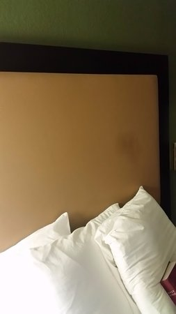 Norton, MA: headboard stain!!