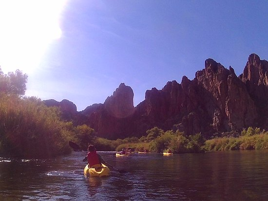 Saguaro Lake Guest Ranch: Salt River Kayaking