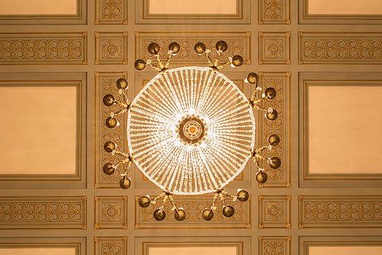 Palace Casino: Detalhes Lustre Salão Azul