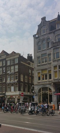 Hotel Continental: Very central to all aspects of Amsterdam