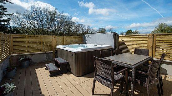 Berrier, UK: Park Collection Hot Tub