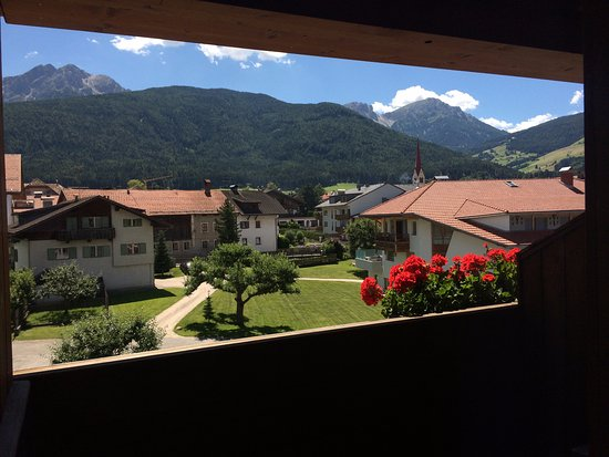 Alp Cron Moarhof Hotel: Vista montagna