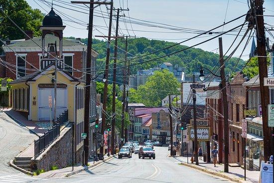 Main Street Old Ellicott City Credit Clark Vandergrift, OTD