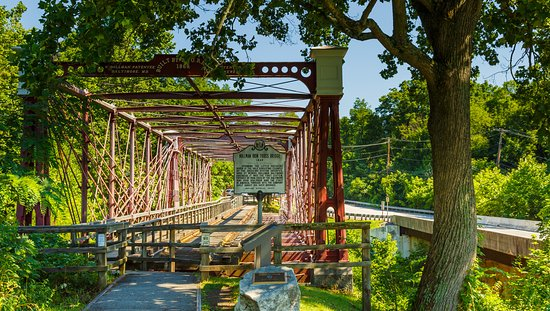 Bollman Truss Railroad Bridge near Historic Savage Mill