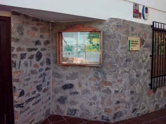 Padul, Spania: Información en exterior del Aula