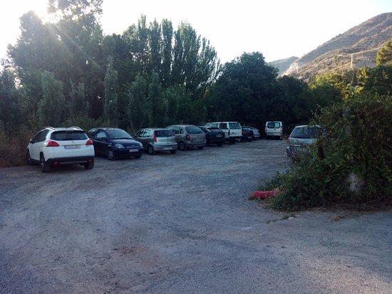 Padul, Spania: Zona de aparcamiento