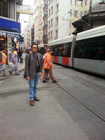Galata Istanbul Hotel: dekat akses trem kota istanbul