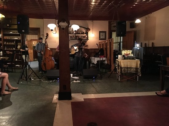 Fireside Collective playing at Hotel Crittenden in Coudersport, PA