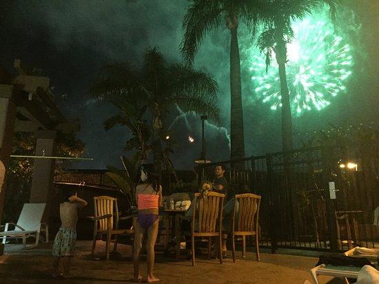 Hotel Menage: Disney Fireworks!