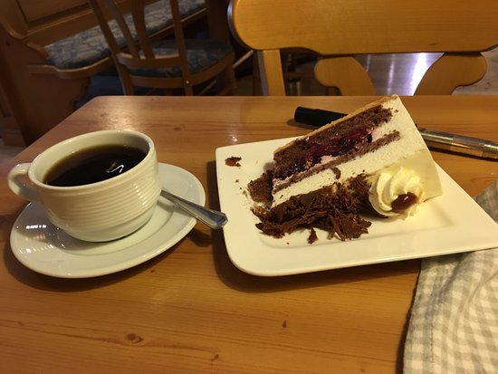 House of Black Forest Clocks: Delicious Black Forest Cake and Coffee
