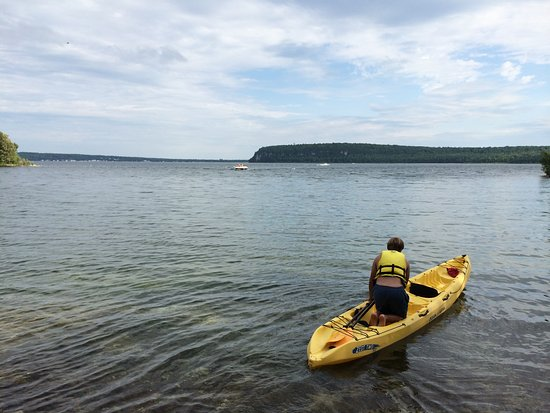 Egg Harbor, WI: Door County is a silent sports paradise.