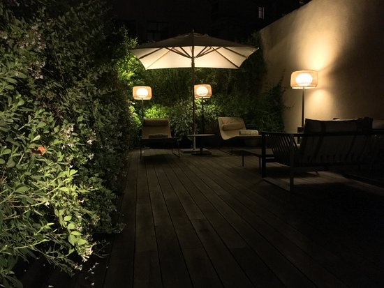 Mercer Hotel Barcelona: private terrace