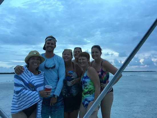 Sugarloaf Key, Floride : Captain Nat did it again!! He made my 50th birthday celebration worth the 50 year wait!! He went