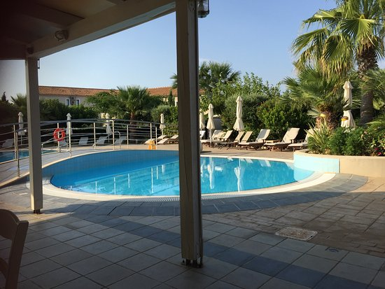 "Avithos Resort: view of the ""little pool"" from the breakfast area"