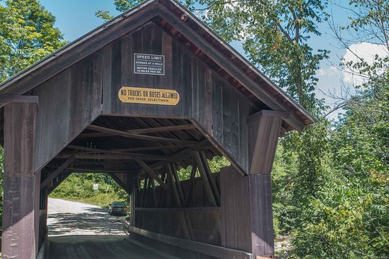 Gold Brook Covered Bridge (Emily's Covered Bridge): Gold Brook Bridge (also known as Emily's Bridge)