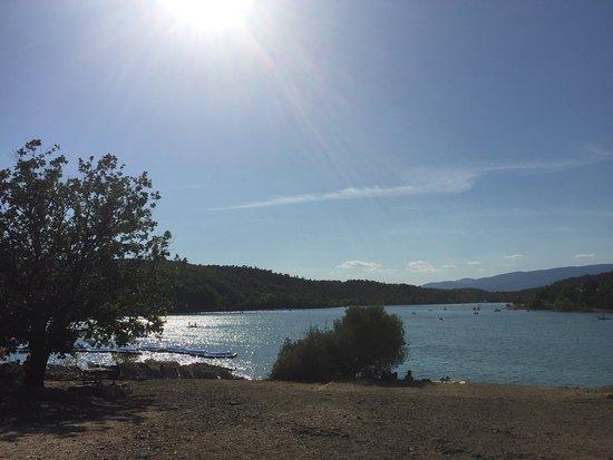 Var, France : Lac de Saint Cassien