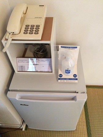 Hokkaido Christian Center : 冷蔵庫も消臭スプレーも有り