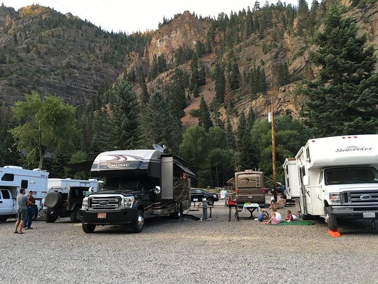 View From The Camp Site Picture Of Ouray Rv Park And
