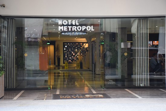 Hotel Metropol: entree de l hotel