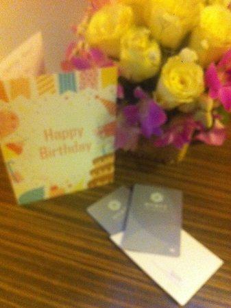 Hyatt Regency Hua Hin: Birthday card