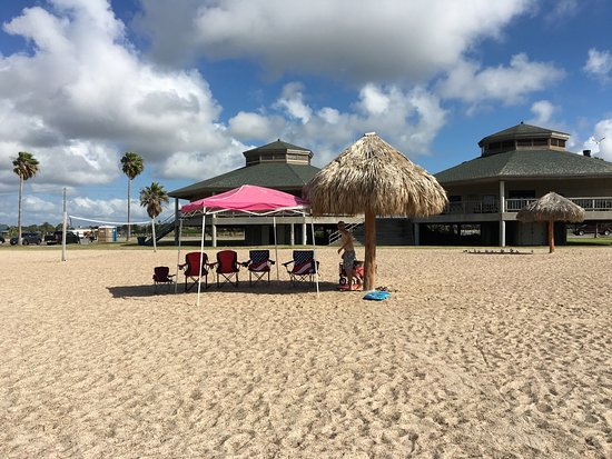 Rockport Beach: Our setup