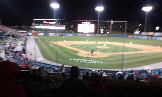 Reading Fightin Phils, FirstEnergy Stadium: Not bad for a last minute ticket!